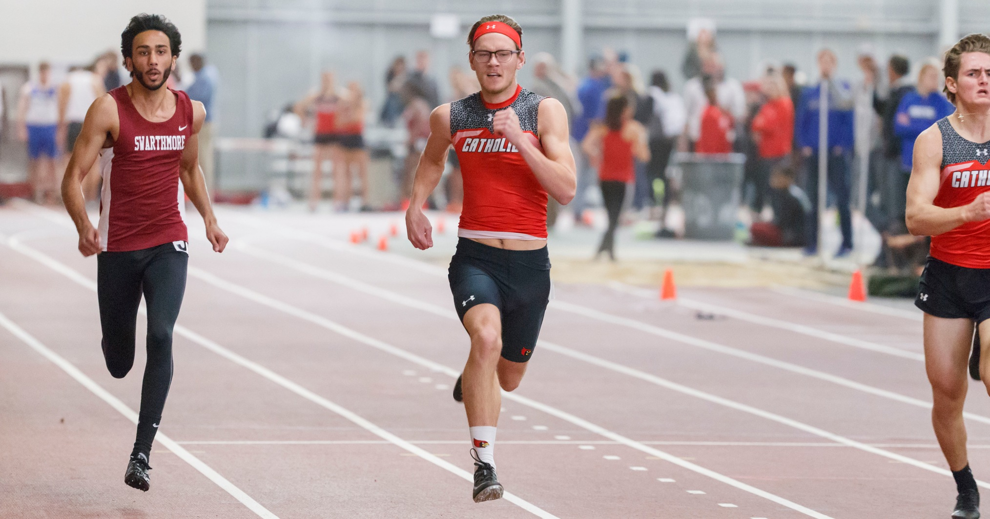 Cardinals Record Multiple Personal Bests at the Patriot Games