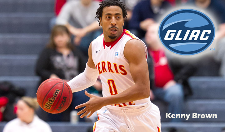 FSU's Kenny Brown Claims GLIAC Honor After Two Buzzer-Beaters