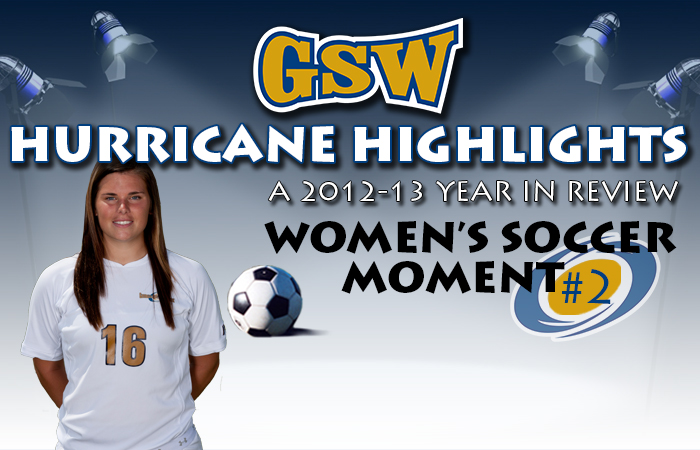 GSW Women's Soccer Hurricane Highlight #2: Canganelli sets Minutes Mark