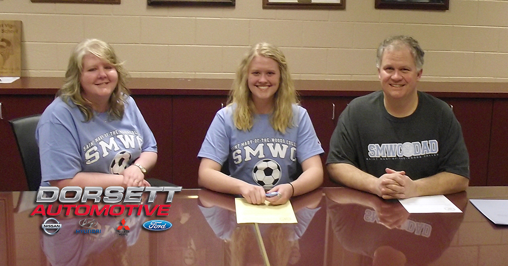 #PomeroyWSC Signs West Vigo Captain, Paige Buckallew