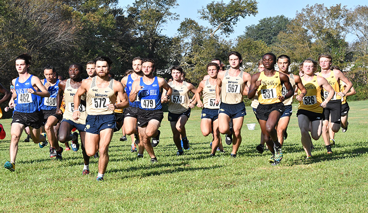 Mars Hill turns in strong performance at Royals Cross Country Challenge