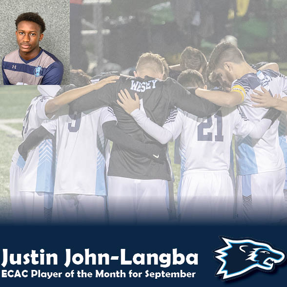 John-Langba Announced as ECAC Player of the Month for September