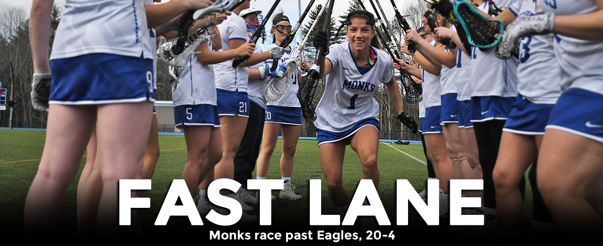 Monks Race Past Eagles, 20-4