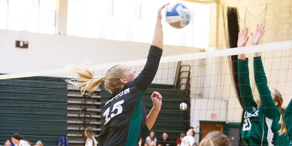Women's Volleyball Drops Road Game at Maine Maritime