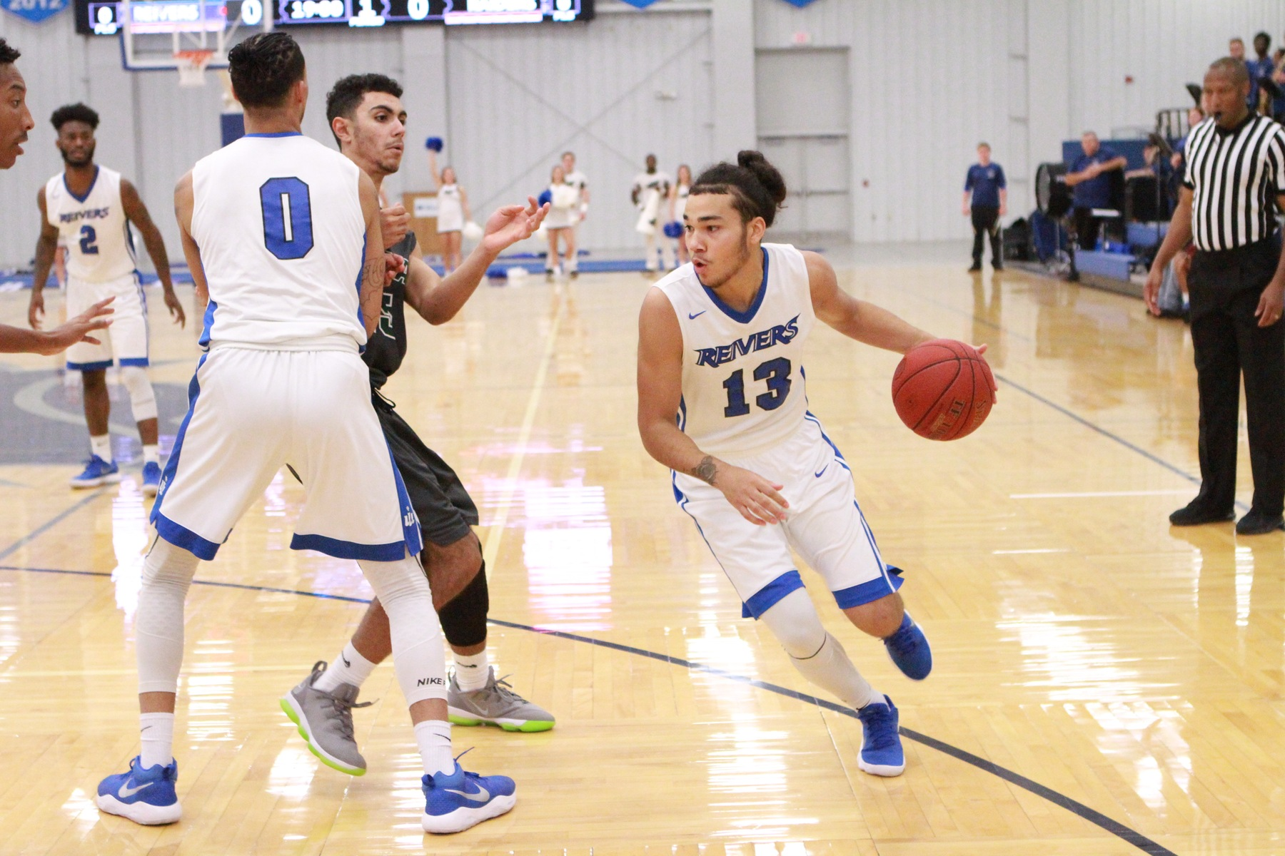 Patrick Dembley dished out a team high 6 assists to go along with his 3/7 shooting for behind the three point arch as Iowa Western avenged their previous defeat to State Fair with a emphatic 94-70 victory Saturday afternoon (2/10/18).