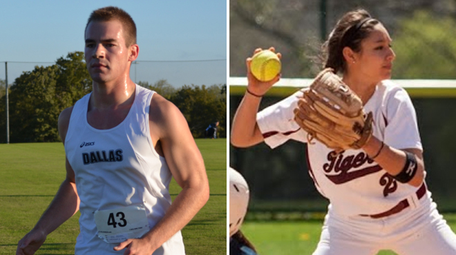 Dallas' Hedlesky; Trinity's Sanchez Selected SCAC Character & Community Student-Athletes of the Week