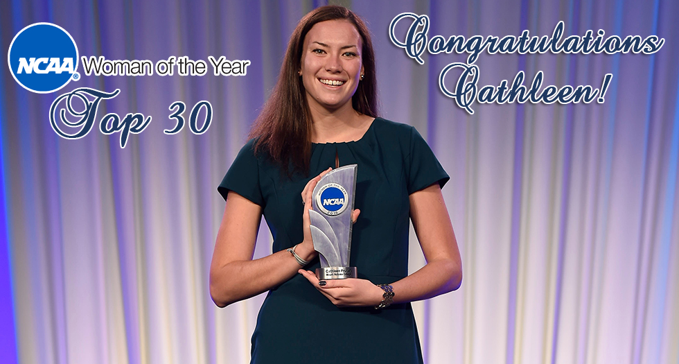 Pruden Honored As Top 30 Selection for 2016 NCAA Woman of the Year Award