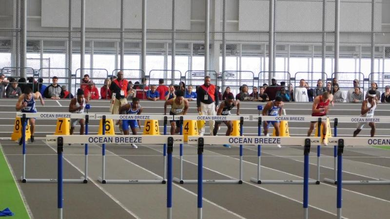 Freshmen Shine as Men's Indoor Track and Field Completes New England Championships