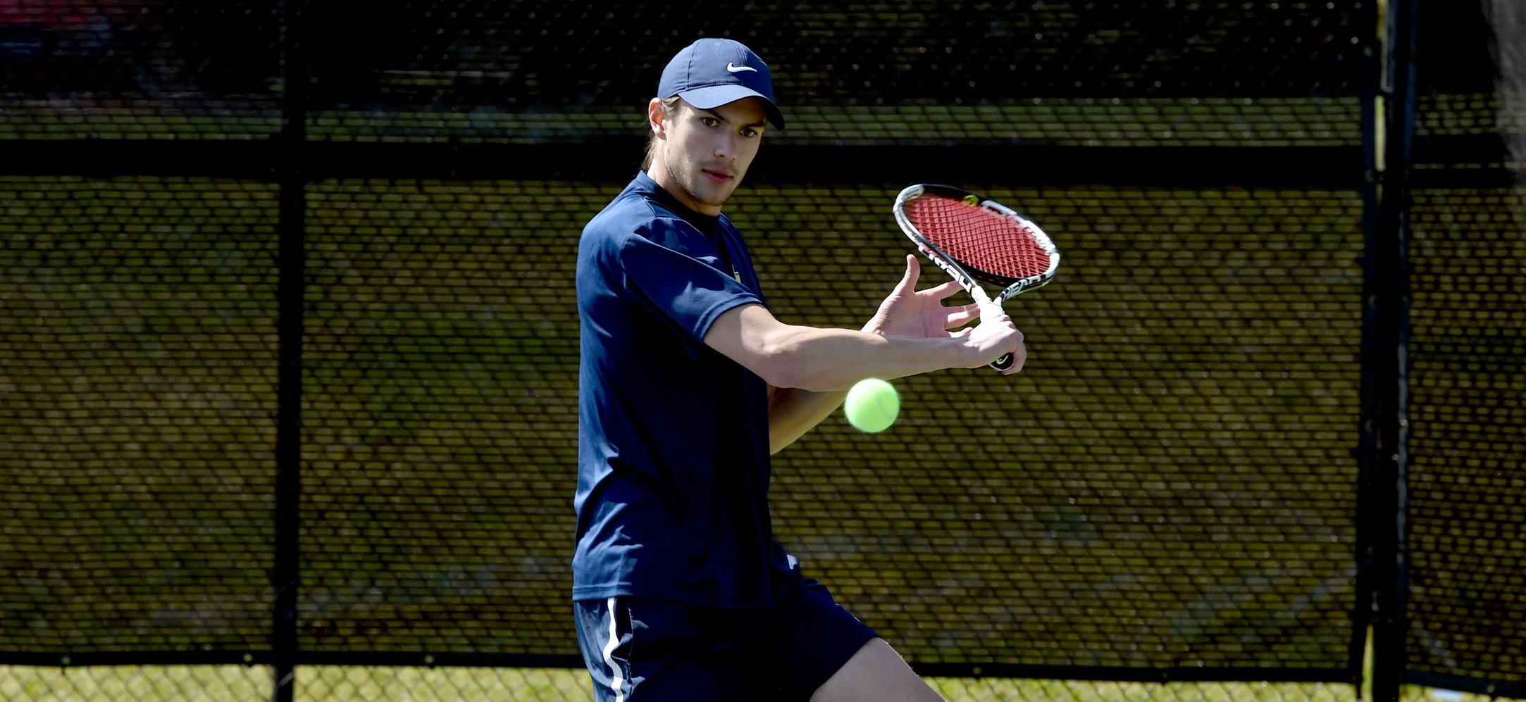 Men's Tennis Falls to Scranton on Senior Day