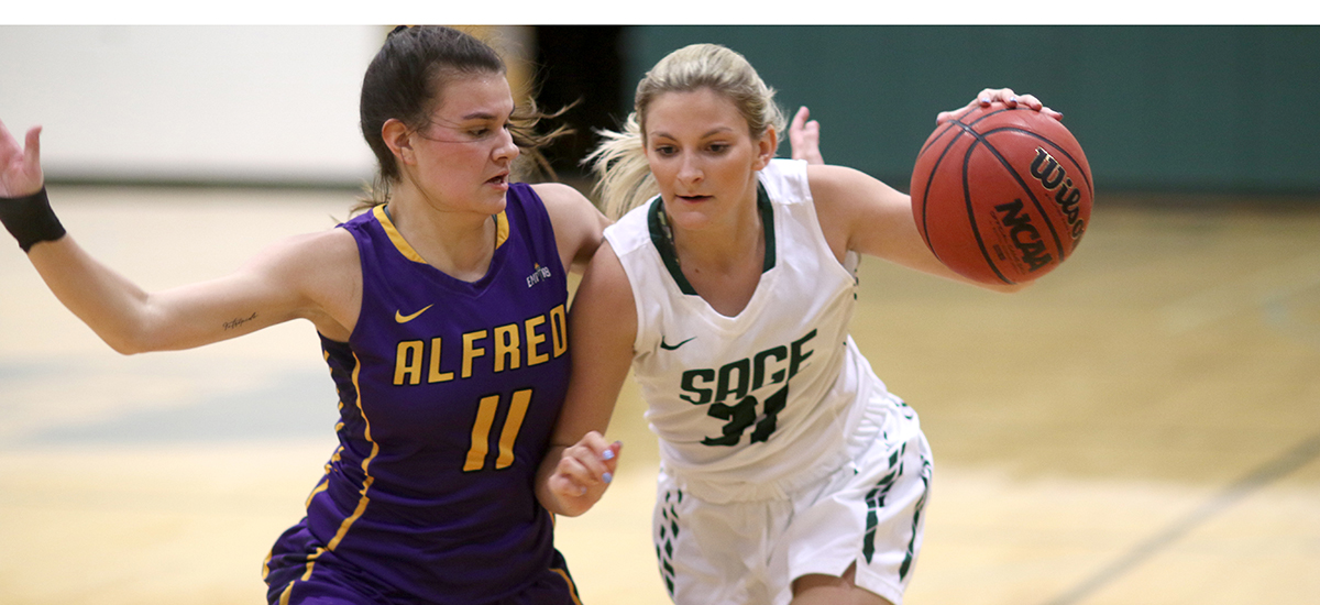 Sage women extend win streak to 3 games with 78-46 victory at Elmira