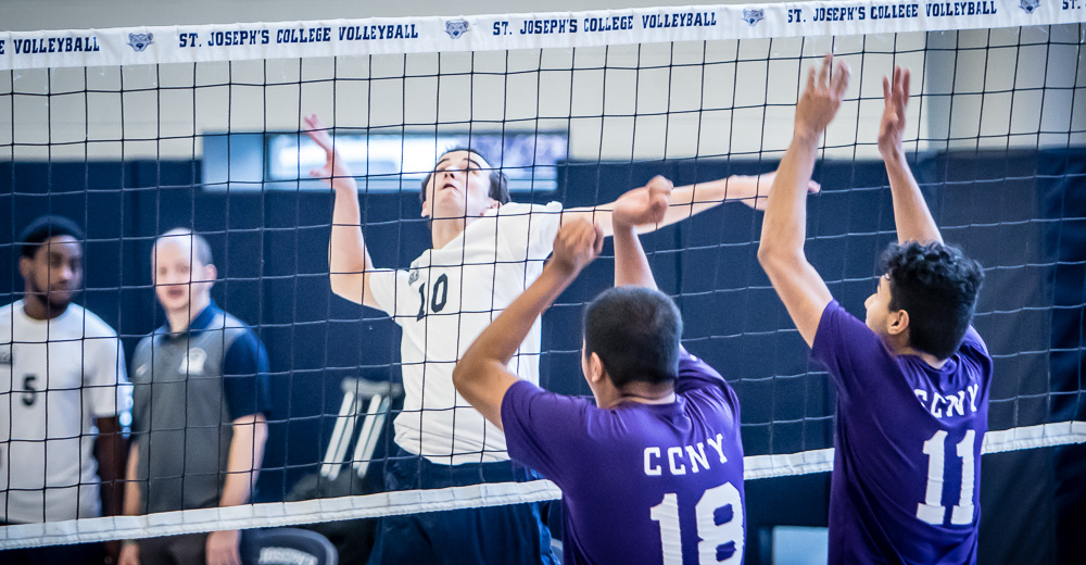 Men's Volleyball Downed by Kean and Purchase