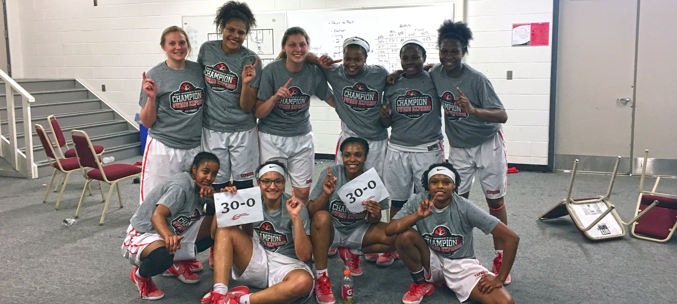 No. 2 Owens WBB Makes History, Completes 30-0 Regular Season With 79-68 Win Over Cincinnati State