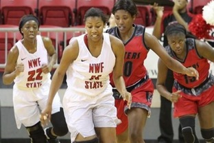 NWF State heads into break 11-2 after 75-49 win
