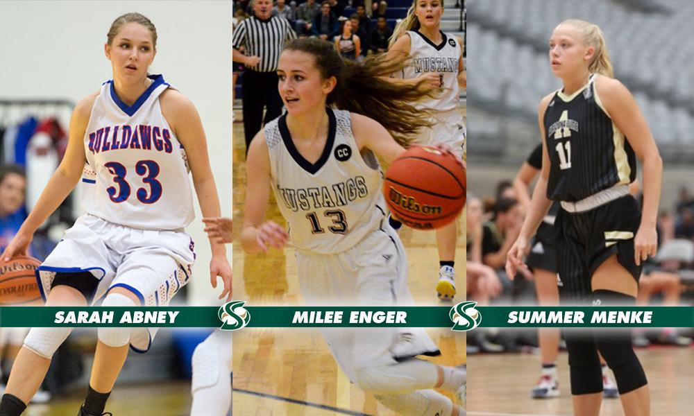 WOMEN'S HOOPS SIGNS THREE TO NATIONAL LETTERS OF INTENT