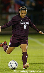 Women's Soccer Scores Six Goals in Win