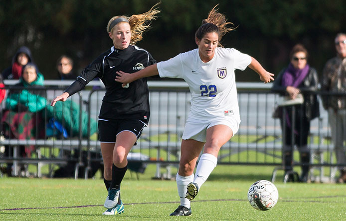 Women's soccer stays close with Southern Connecticut State until late in setback