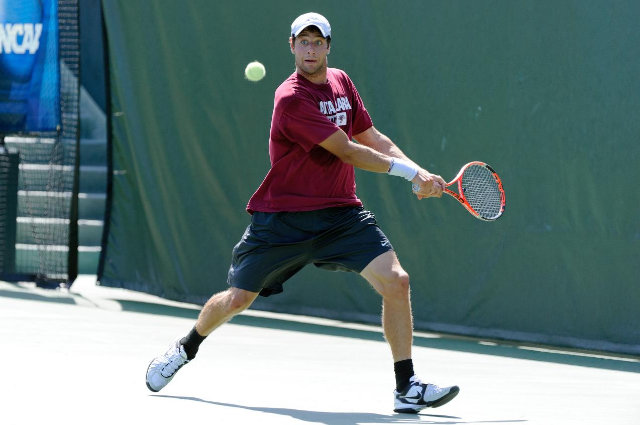 Lamble Moves On To Round of 16 in Singles and Doubles at ITA Regionals