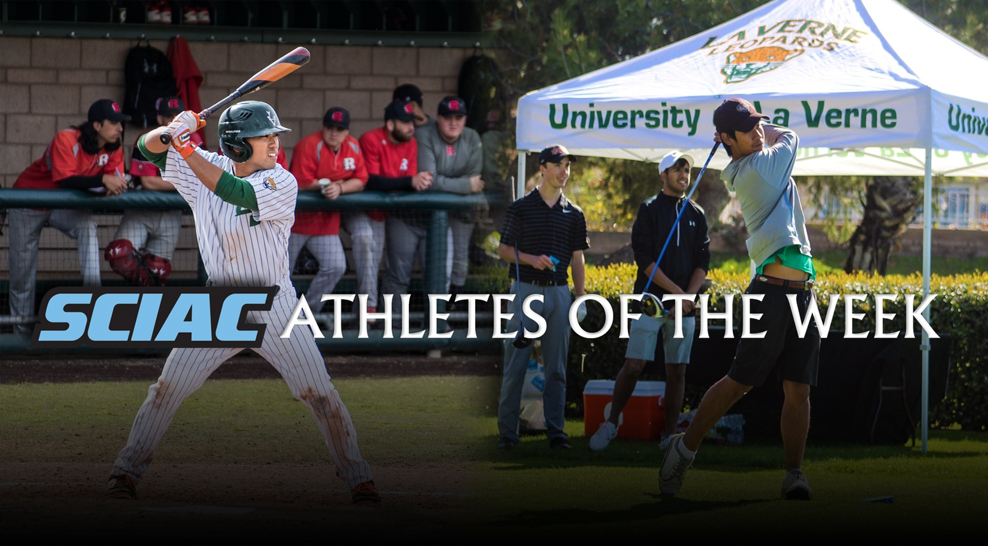 Ligot, Phanomchai tabbed SCIAC Athletes of the Week