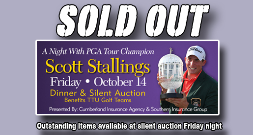 Stallings Dinner sold out; Guests to bid on exciting items