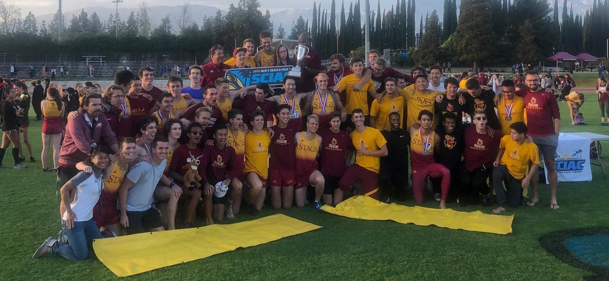 CMS Men's Track and Field Rolls to SCIAC Title by 40 Points at Home Track