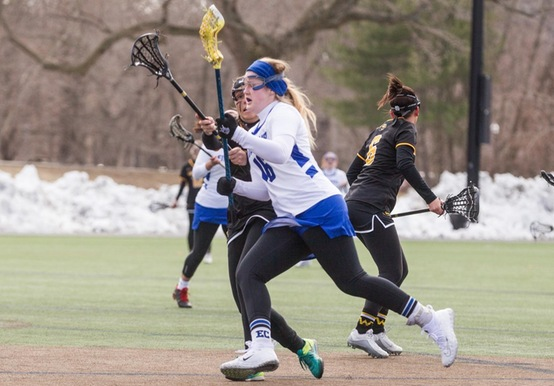 WOMEN'S LACROSSE FALLS ON THE ROAD TO SAINT JOSEPH'S