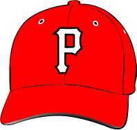 Porterville College Pirates Hat with Logo