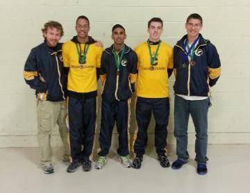 Men's Cross County Takes Third at Northeast Invitational