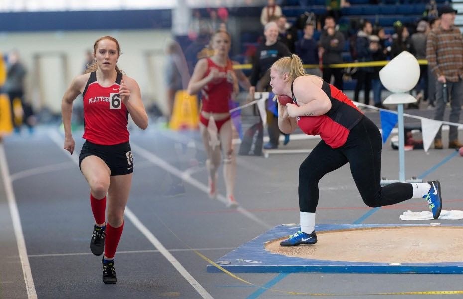 SUNYAC selects Women's Indoor Track and Field Athletes of the Week