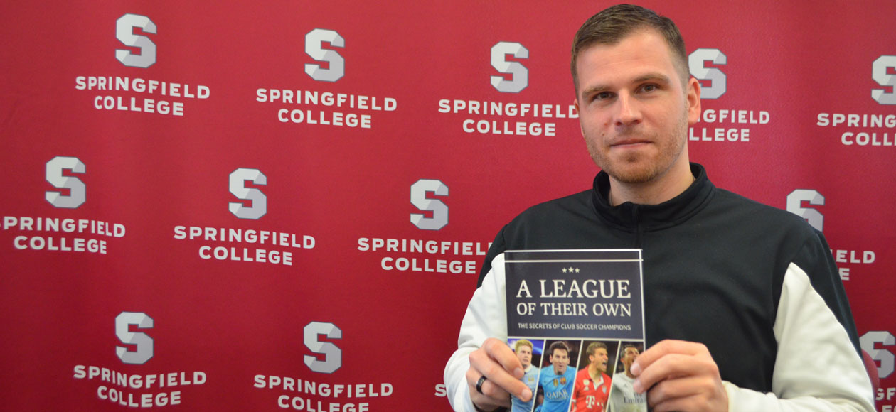Siebert Authors Top-Selling Soccer Coaching Book
