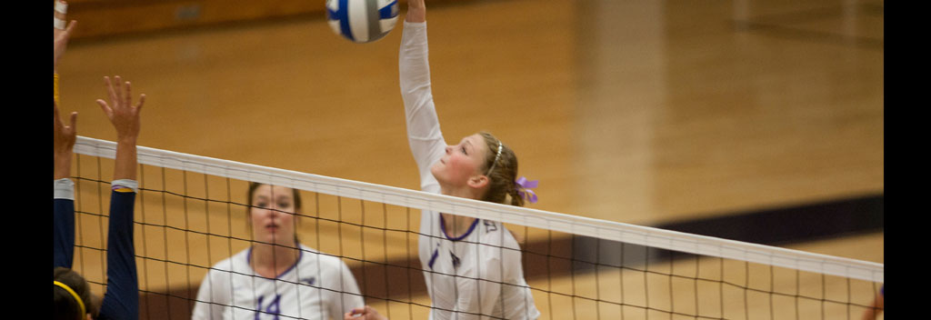 Women's volleyball wins pair on opening day of Union Invitational