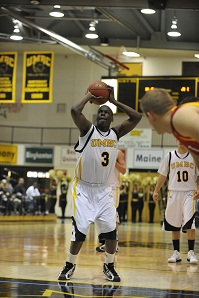 Jamar Wertz scored a season high 11 points vs. Towson