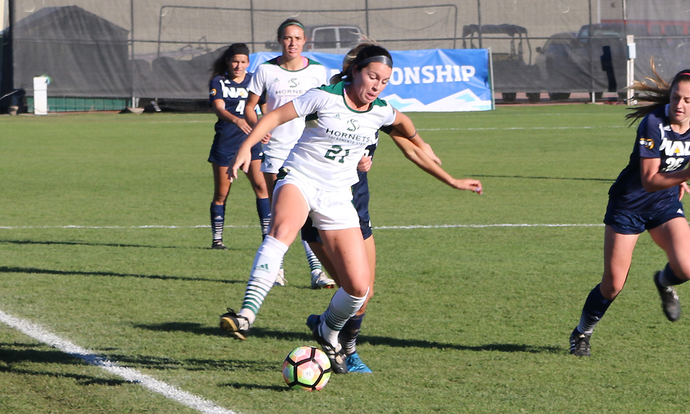 WOMEN'S SOCCER EDGED BY NORTHERN ARIZONA, 3-2, IN BIG SKY TOURNAMENT SEMIFINAL