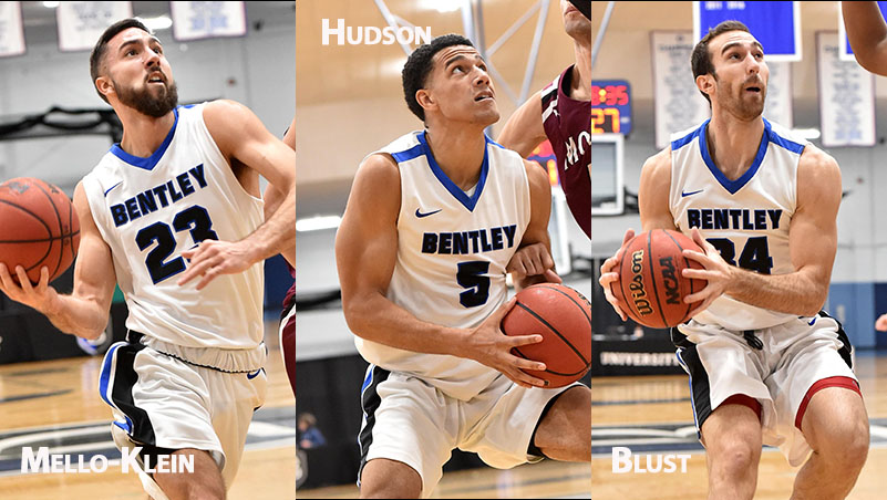 Mello-Klein, Hudson & Blust Combine for 71 as Bentley Wins 7th; Hudson Tops 1,000