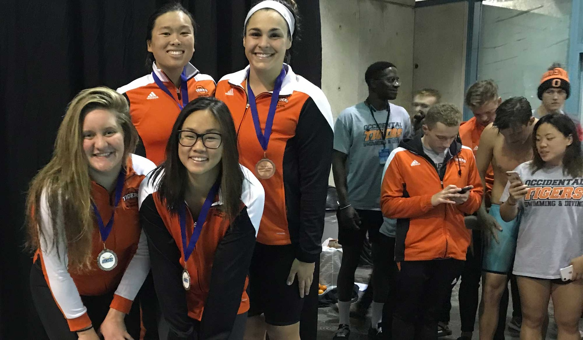 Two Relays, Two Individuals All-SCIAC