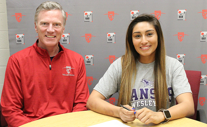 Serrano Signs with Kansas Wesleyan