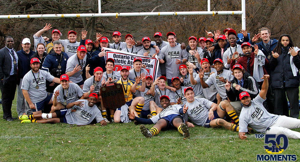 FIVE STRAIGHT PROVINCIAL TITLES FOR MEN'S RUGBY