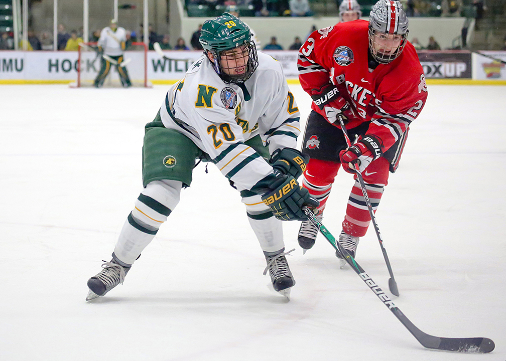 Ferris State Edges NMU Hockey