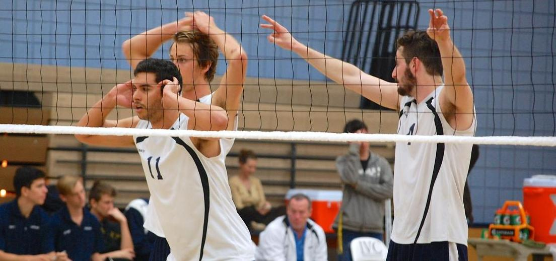 Men's volleyball team posts second sweep in a row