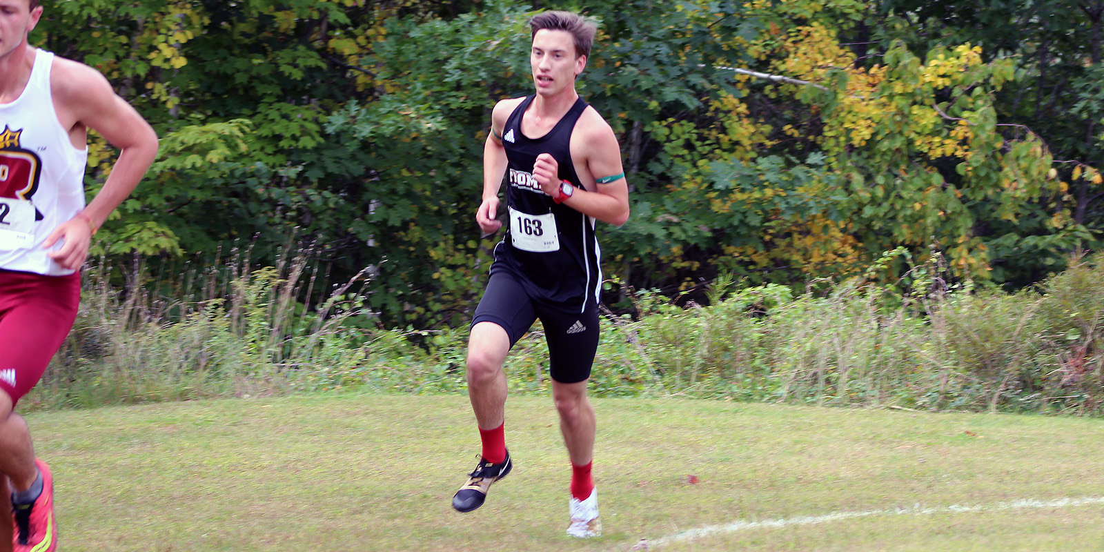 XC: Thomas Competes in Runnin' Monks Invitational