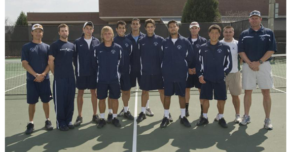 Men's Tennis Ranks Second in NCAA Regional Poll