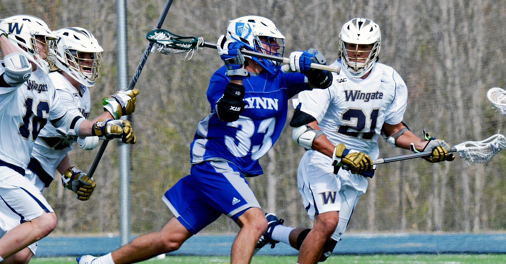 Early Deficit Leads to First Lacrosse Defeat