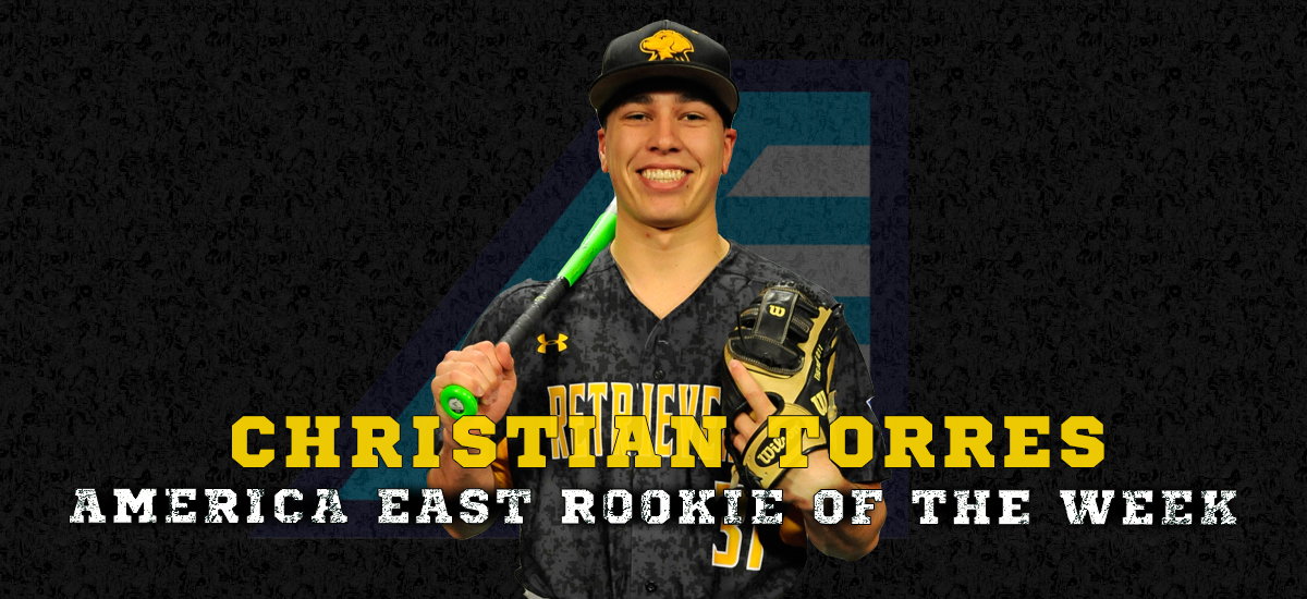Torres Named #AEBASE Rookie of the Week for the Second Straight Week