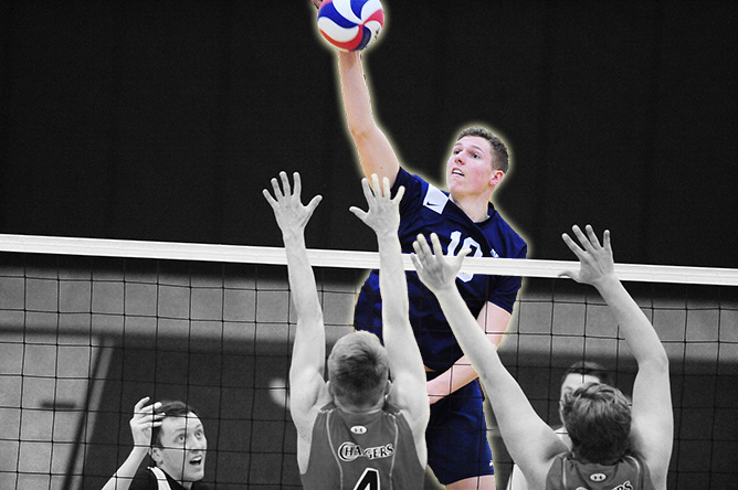 Munk Named To All-UVC Team