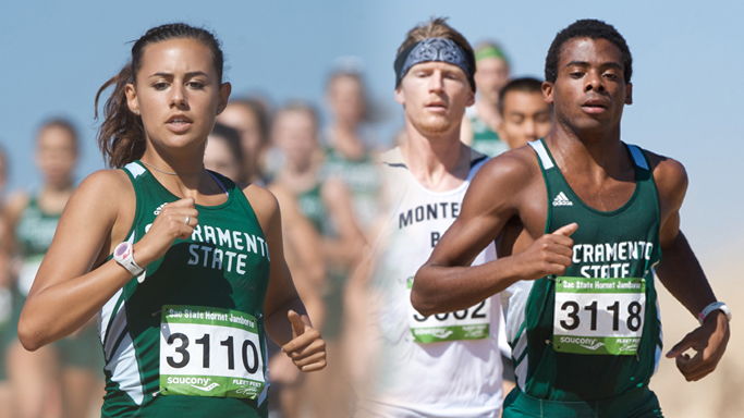 MITCHELL, BYERS LEAD WOMEN, MEN TO TITLES AT HORNET JAMBOREE
