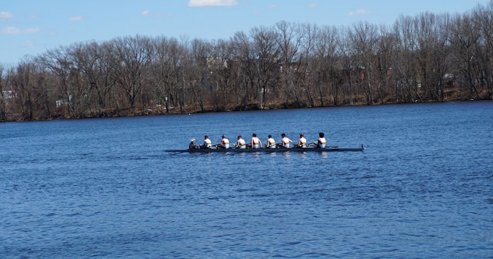 Two First Place Finishes Highlight Rowing's Success at Head of the Passaic