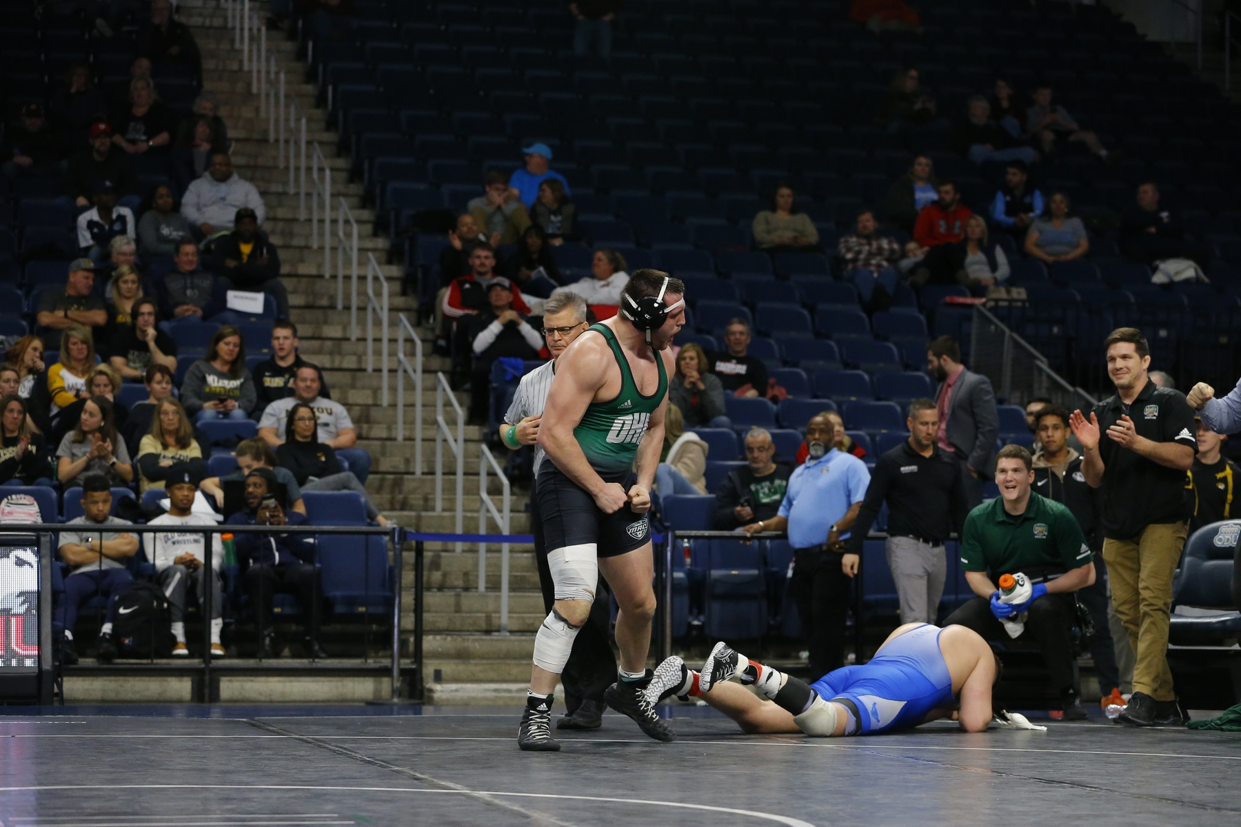 Kelly, Parker Qualify For Nationals To Highlight Final Day Of 2019 MAC Championships For Ohio Wrestling