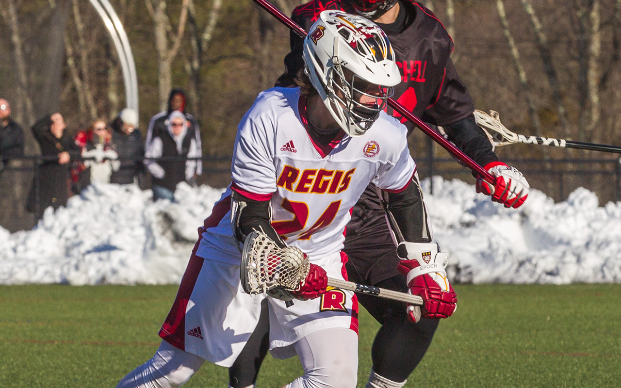 Men's Lacrosse Upended In Road Loss To Rivier