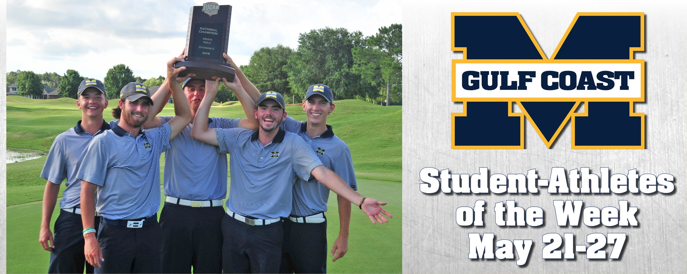 National champs named MGCCC Student-Athletes of the Week