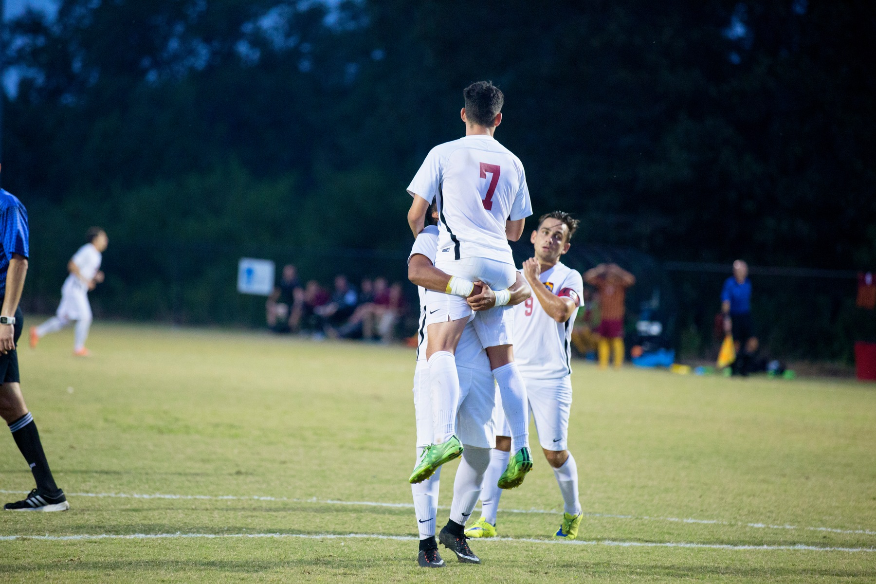 Men's Soccer Captures First Win of the Season