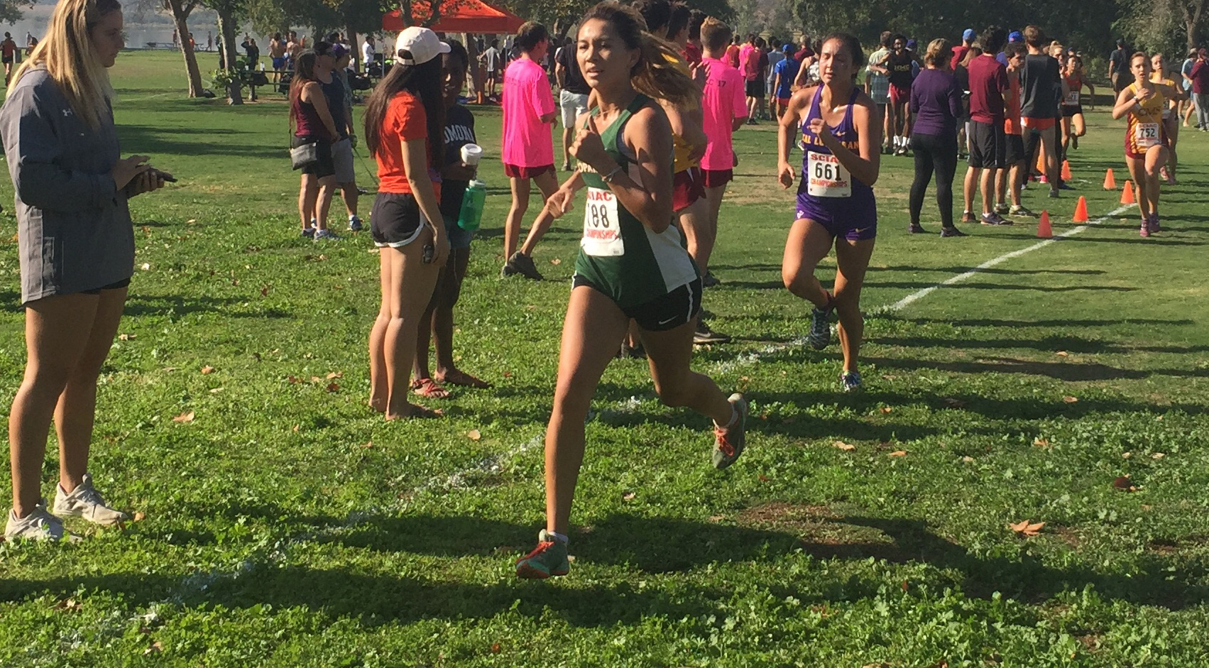 Cross Country teams finish 8th at SCIAC Championships